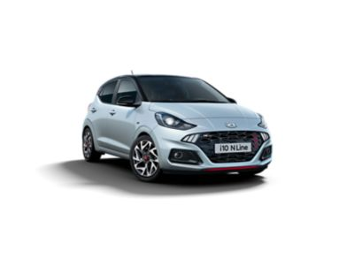 The All-New Hyundai i10 N Line LED lights
