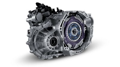 The 7-speed dual clutch transmission gearbox of the all-new Hyundai i20