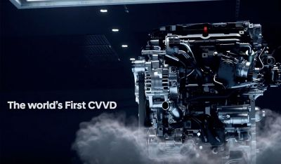 A video of the Continuously Variable Valve Duration engine technology in the all-new Hyundai Tucson.
