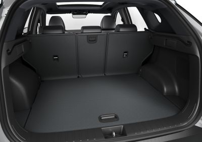 The boot of the all-new Hyundai TUCSON Plug-in Hybrid compact SUV.
