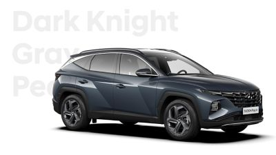 The different color options for the all-new Hyundai TUCSON Plug-in Hybrid compact SUV: Dark Knight.